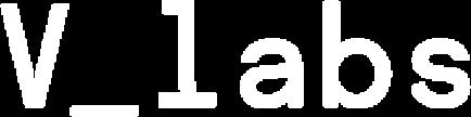 Weißer Schriftzug Logo V_Labs
